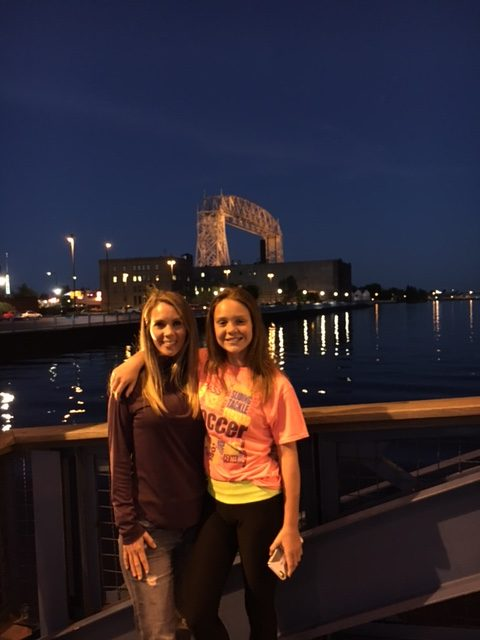 Beautiful Lake Superior! Thanks for the Sweet Welcome, Grandma's Marathon!