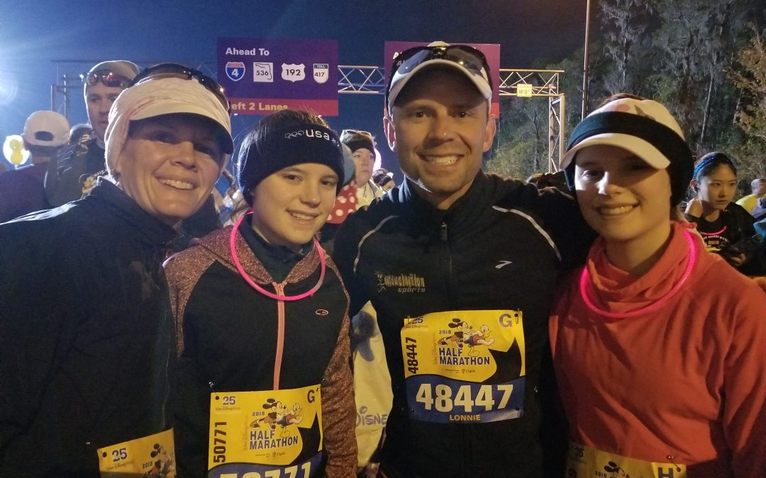 running with your children half marathon